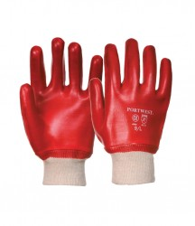Portwest PVC Knitwrist Gloves image