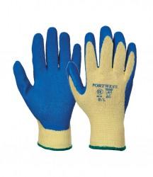 Portwest Cut 3 Latex Grip Gloves image