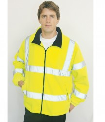 Portwest Hi-Vis Mesh Lined Fleece Jacket image