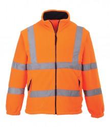 Portwest Hi-Vis Mesh Lined Fleece Jacket image