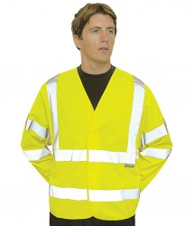 Portwest Hi-Vis Two Band and Braces Jacket image