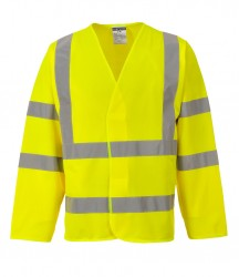 Portwest Hi-Vis Two Band & Brace Jacket image