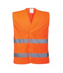 Portwest Hi-Vis Two Band Vest image