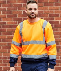 Portwest Hi-Vis Two Tone Sweatshirt image