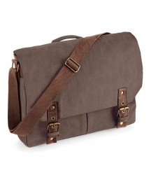 Quadra Vintage Canvas Satchel Messenger image