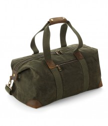 Quadra Heritage Waxed Canvas Holdall image
