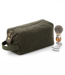 Quadra Heritage Waxed Canvas Wash Bag image