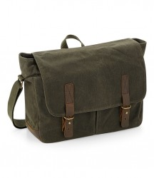 Quadra Heritage Waxed Canvas Messenger image
