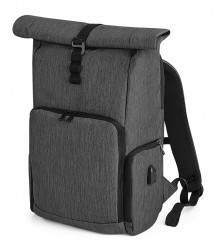 Quadra Q-Tech Charge Roll-Top Backpack image