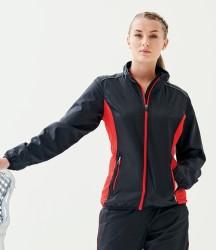 Regatta Activewear Ladies Athens Contrast Tracksuit Jacket image