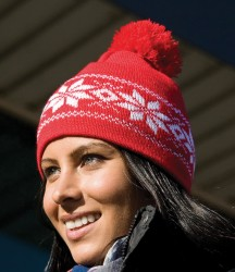 Result Fair Isles Knitted Hat image