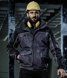 Regatta Hardwear Condenser Heavy Duty Bomber Jacket image