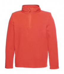 Regatta Kids Brigade Zip Neck Micro Fleece image