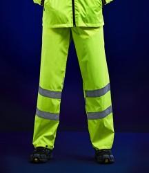 Regatta Hi-Vis Pro Packaway Overtrousers image