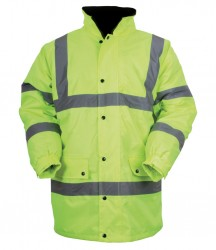 Regatta Hardwear Hi-Vis Traffic Jacket image