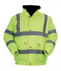 Regatta Hardwear Hi-Vis Bomber Jacket image