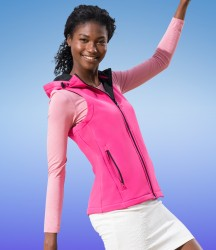 Regatta Standout Ladies Arley Hooded Soft Shell Bodywarmer image