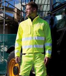 Result Safe-Guard Hi-Vis Soft Shell Jacket image