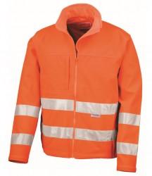 Result Safe-Guard Hi-Vis Soft Shell Jacket image