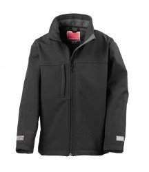 Image 2 of Result Kids Classic Soft Shell Jacket