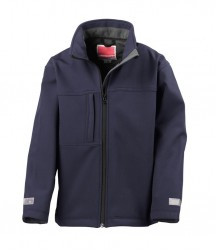Image 3 of Result Kids Classic Soft Shell Jacket