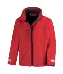 Image 4 of Result Kids Classic Soft Shell Jacket