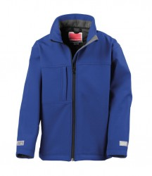 Image 5 of Result Kids Classic Soft Shell Jacket