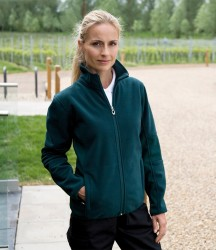 Result Ladies Osaka Combed Pile Soft Shell Jacket image