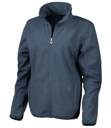 Image 4 of Result Ladies Osaka Combed Pile Soft Shell Jacket