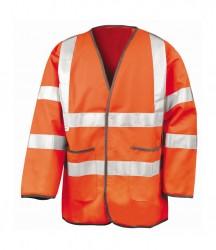 Result Safe-Guard Lightweight Hi-Vis Motorway Safety Jacket image