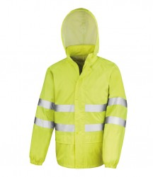 Result Safe-Guard Hi-Vis Waterproof Suit image