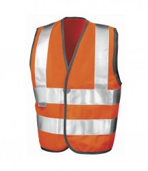 Result Safe-Guard Kids Hi-Vis Vest image