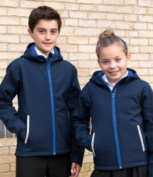 Result Core Kids TX Performance Hooded Soft Shell Jacket image