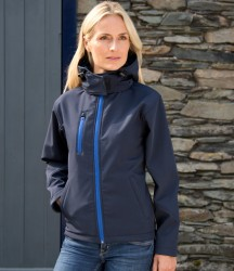 Result Core Ladies Hooded Soft Shell Jacket image