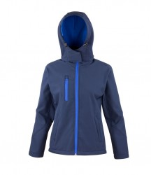 Image 3 of Result Core Ladies Hooded Soft Shell Jacket