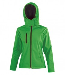 Image 5 of Result Core Ladies Hooded Soft Shell Jacket