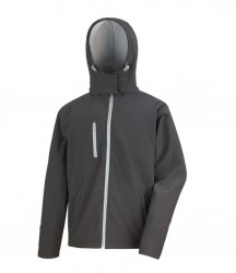 Image 2 of Result Core Hooded Soft Shell Jacket