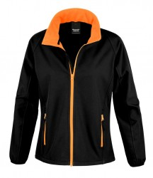 Image 3 of Result Core Ladies Printable Soft Shell Jacket