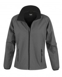 Image 4 of Result Core Ladies Printable Soft Shell Jacket