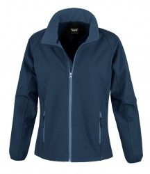 Image 5 of Result Core Ladies Printable Soft Shell Jacket