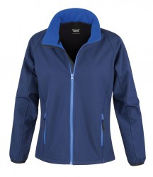 Image 6 of Result Core Ladies Printable Soft Shell Jacket