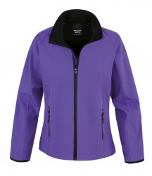 Image 7 of Result Core Ladies Printable Soft Shell Jacket