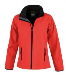 Image 8 of Result Core Ladies Printable Soft Shell Jacket