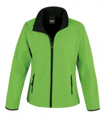Image 9 of Result Core Ladies Printable Soft Shell Jacket