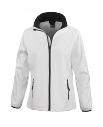 Image 10 of Result Core Ladies Printable Soft Shell Jacket