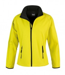 Image 11 of Result Core Ladies Printable Soft Shell Jacket