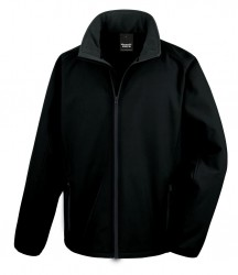 Image 11 of Result Core Printable Soft Shell Jacket