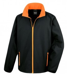 Image 2 of Result Core Printable Soft Shell Jacket