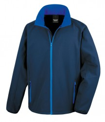 Image 8 of Result Core Printable Soft Shell Jacket