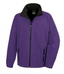Image 7 of Result Core Printable Soft Shell Jacket